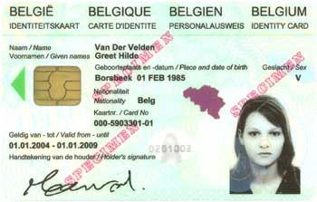 BelgischeID